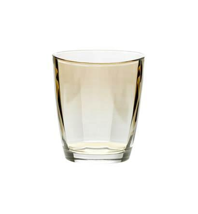 Vietri Optical Original Amber Double Old Fashioned $20.00