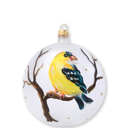 $46.00 Yellow Finch Ornament