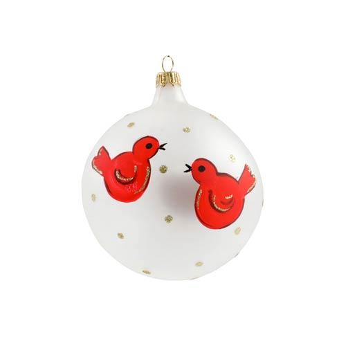 $47.00 Red Birds Ornament