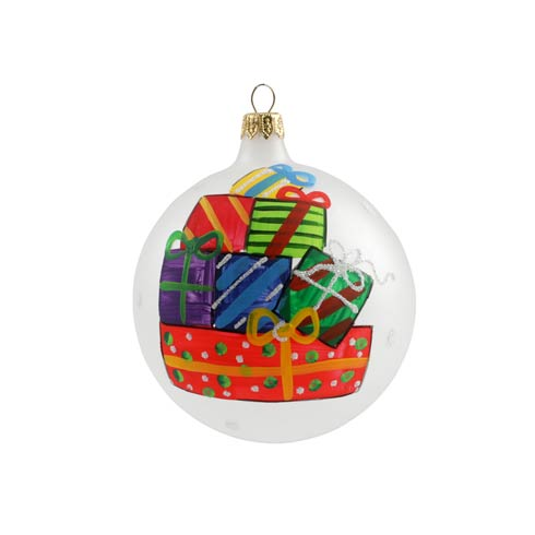 $40.00 Stacked Gifts Ornament