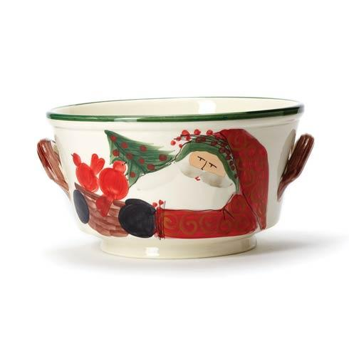 Vietri  Old St. Nick Celebration Bucket $268.00
