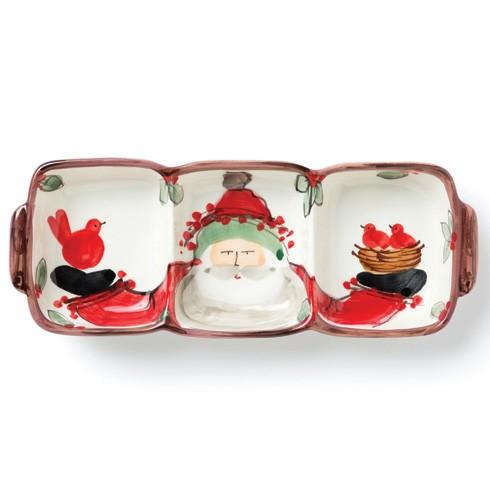 Vietri  Old St. Nick Three Part Server $121.50