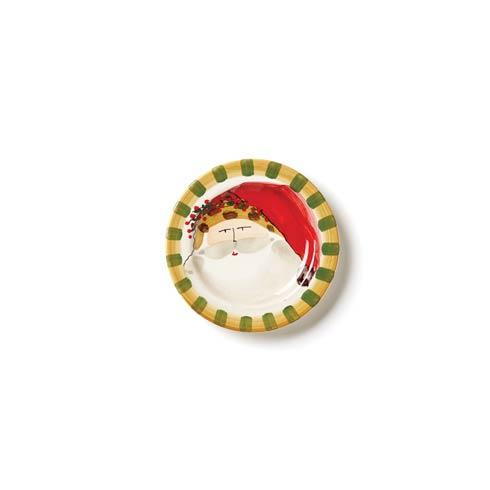 Vietri  Old St. Nick Round Salad Plate - Animal Hat $48.00