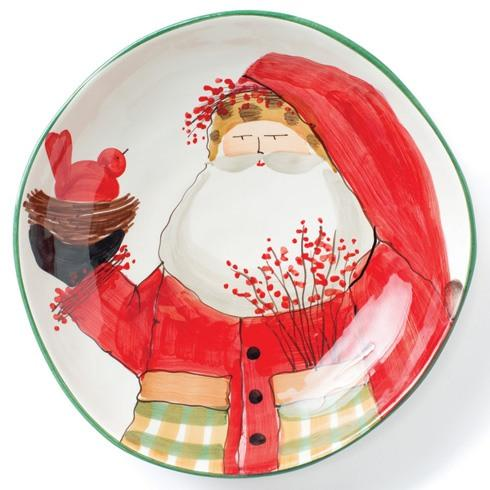 Vietri  Old St. Nick Large Bowl $218.00