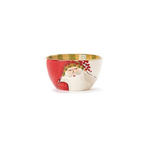 Vietri  Old St. Nick Cereal Bowl - Animal Hat $48.00
