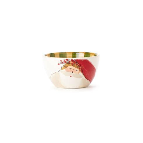 Vietri  Old St. Nick Cereal Bowl - Striped Hat $48.00