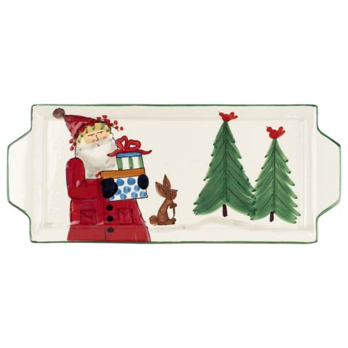 $127.00 Handled Rectangular Platter