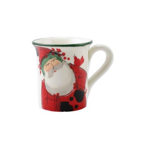 VIETRI  Old St. Nick 2020 Limited Edition Mug $54.00