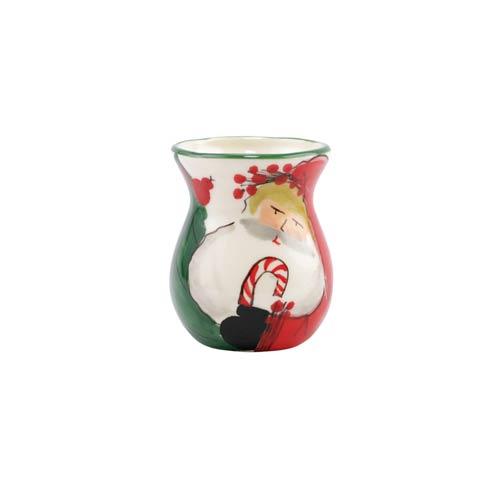 VIETRI  Old St. Nick Bud Vase $68.00