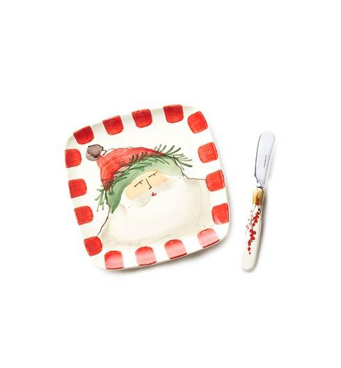 Vietri  Old St. Nick Plate with Spreader $79.00