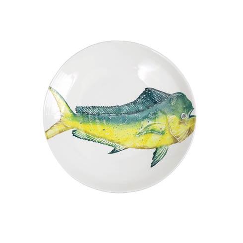 VIETRI  Pesca Mahi Mahi Shallow Bowl $194.00