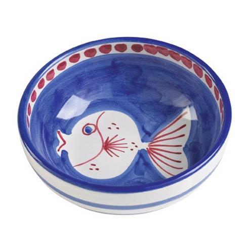 Vietri Campagna Pesce  (Fish) Olive Oil Bowl $30.00