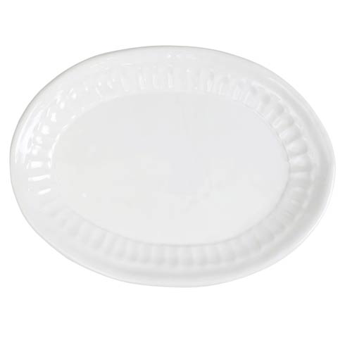 VIETRI  Pietra Serena Small Oval Platter $74.00