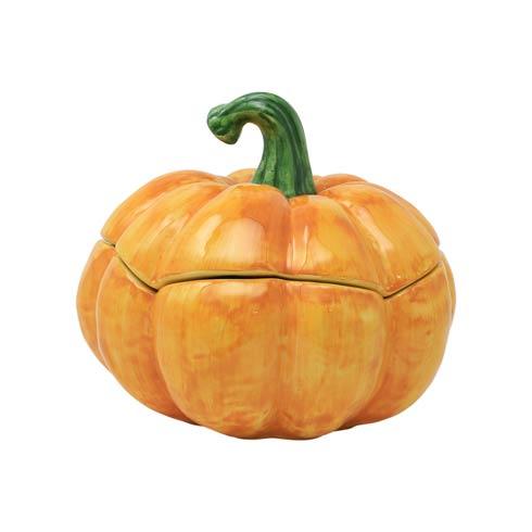 Pumpkin Figural Covered Medium Pumpkin