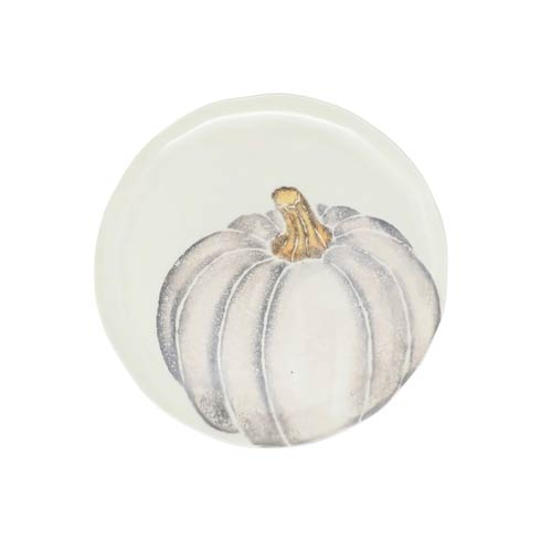 $38.00 Salad Plate - Gray Medium Pumpkin