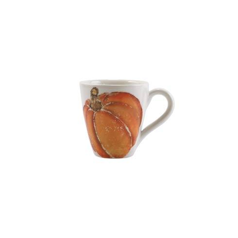 Pumpkin Orange Small Pumpkin Mug Set/4