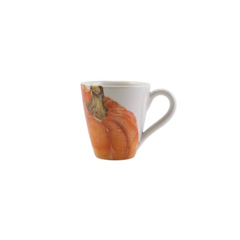 Pumpkin Orange Medium Pumpkin Mug  Set/4