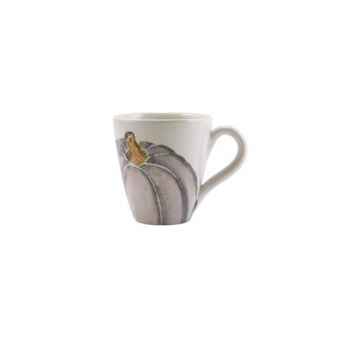 Pumpkin Gray Medium Pumpkin Mug set/4