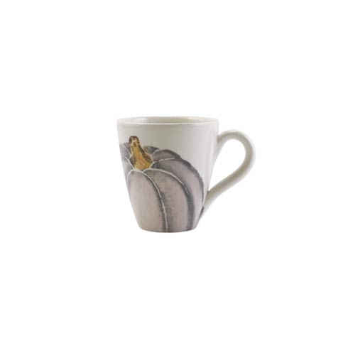$39.00 Gray Medium Pumpkin Mug