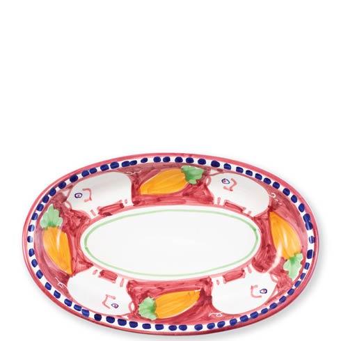 Vietri Campagna Porco Small Oval Tray $86.00