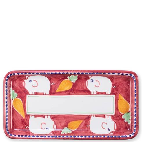 Vietri Campagna Porco Rectangular Platter $189.00