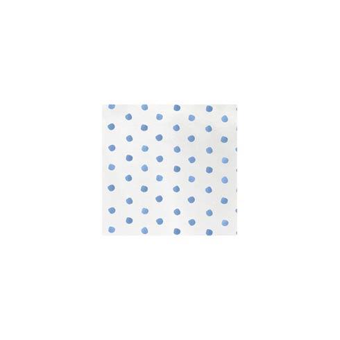 VIETRI  Papersoft Napkins Light Blue Dot Cocktail Napkins (Pack of 20) $8.00