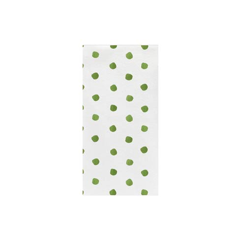 Green Dot Guest Towels (Pack of 20)