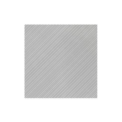 Seersucker Stripe Gray Dinner Napkins (Pack of 20)