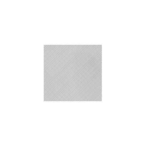 VIETRI  Papersoft Napkins Seersucker Stripe Gray Cocktail Napkins (Pack of 20) $8.00