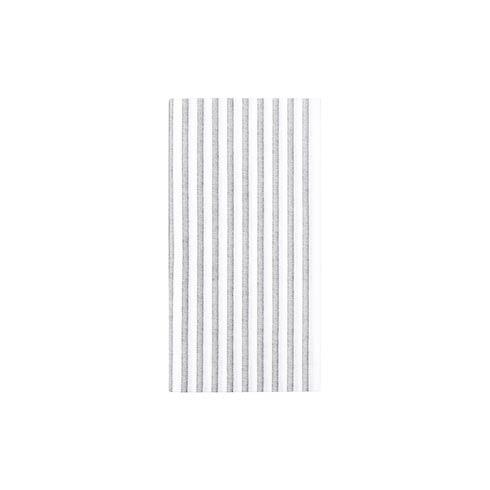$27.00 Capri Gray Guest Towels (Pack of 50)