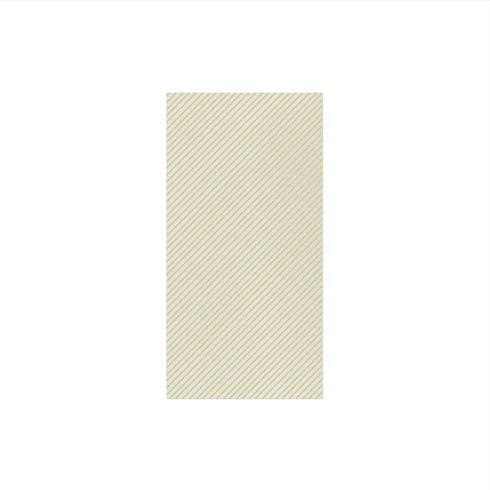 Seersucker Stripe Linen Guest Towels (Pack of 50)