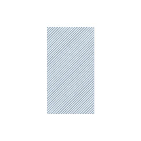 Seersucker Stripe Light Blue Guest Towels (Pack of 20)