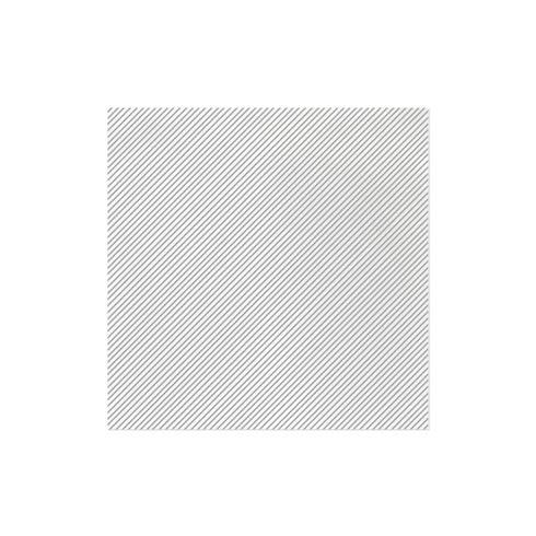 $27.00 Seersucker Stripe Light Gray Dinner Napkins (Pack of 50)