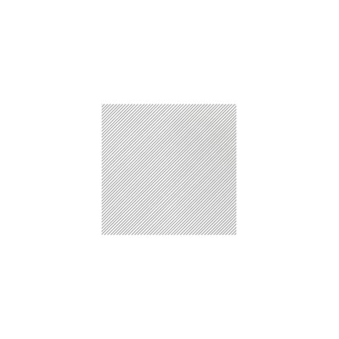 $8.00 Seersucker Stripe Light Gray Cocktail Napkins (Pack of 20)