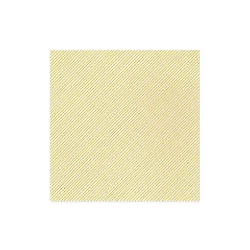 $15.00 Seersucker Stripe Yellow Dinner Napkins (Pack of 20)