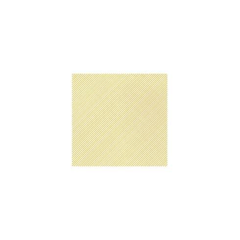 $8.00 Seersucker Stripe Yellow Cocktail Napkins (Pack of 20)