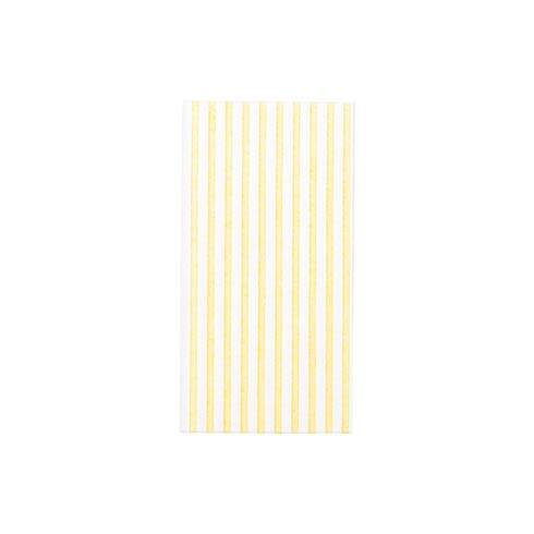 $27.00 Capri Yellow Guest Towels (Pack of 50)