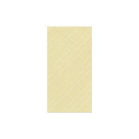 $27.00 Seersucker Stripe Yellow Guest Towels (Pack of 50)