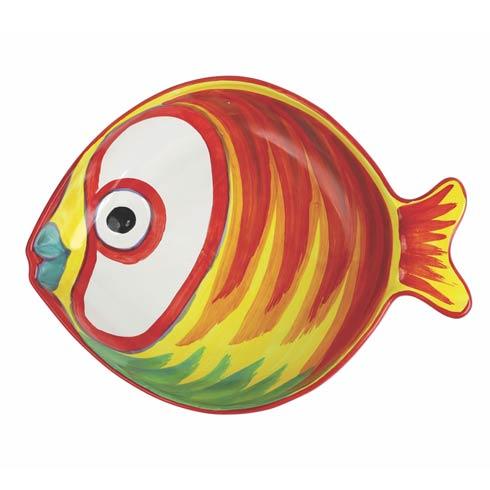 Figural Fish Medium Serving Bowl image