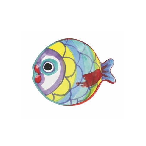 $40.00 Figural Fish Canape Plate