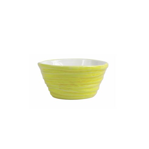$27.00 Yellow Ramekin