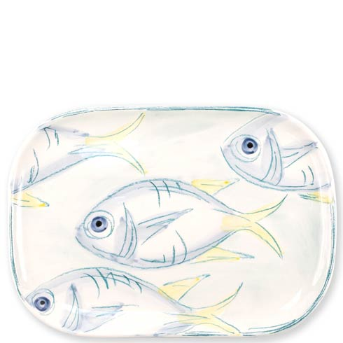 $130.00 Pescatore Medium Rectangular Platter