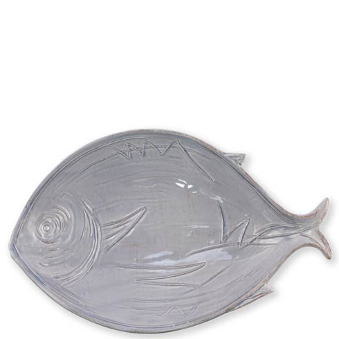 $112.00 Pescatore Gray Figural Large Bowl