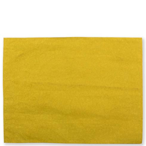$40.00 Washable Paper Placemats Chartreuse Placemats - Set of 4