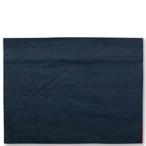 $40.00 Washable Paper Placemats Navy Placemats - Set of 4
