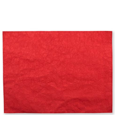 Washable Paper Placemats Red Placemats - Set of 4
