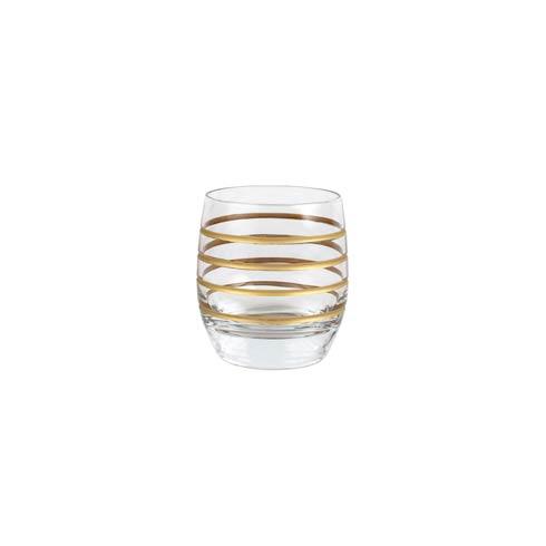 VIETRI  Raffaello Swirl Double Old Fashioned $28.00