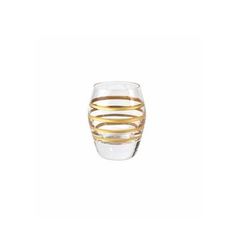 VIETRI  Raffaello Swirl Liquor Glass $22.00