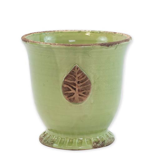 $165.00 Medium Cachepot With Leaf