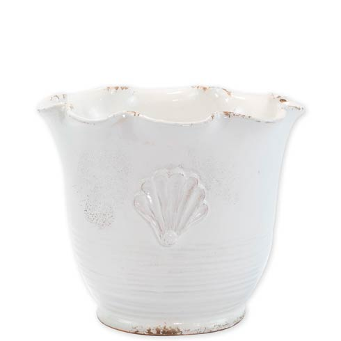 $181.00 Small Scallop Planter w/ Emblem